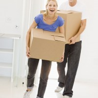 couple moving
